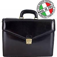 Кожаная сумка-портфель Италия Bottega Carele