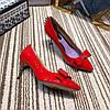 Лакированные туфли-лодочки с бантом GUCCI