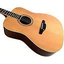 Гитара акустическая Trembita Leoton L-07   (струна, копилка, медиатор), фото 2