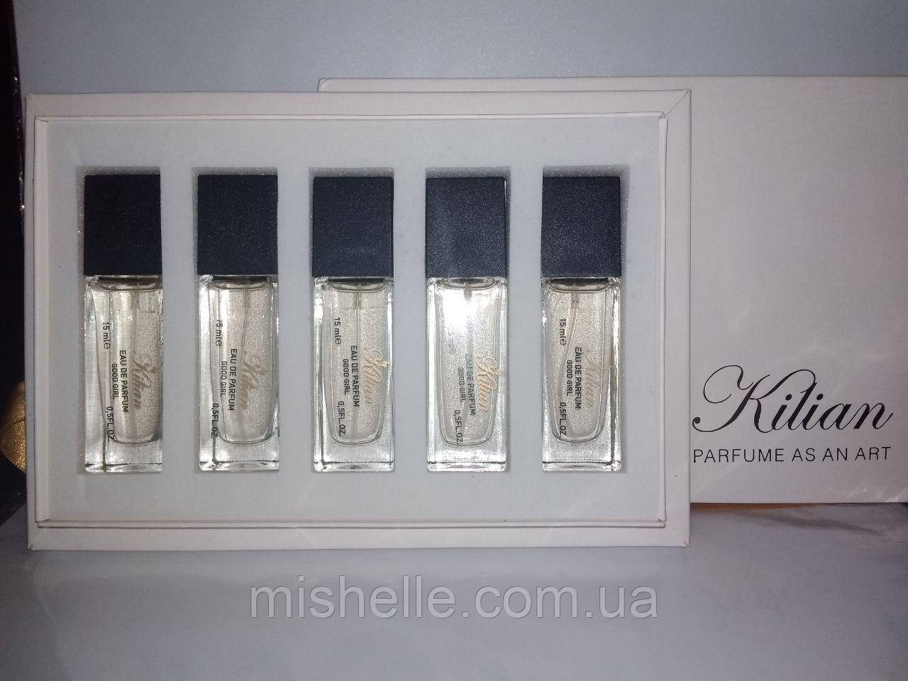 Набор мини-парфюмов Kilian Good girl 5 по 15мл