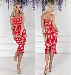 Платье  миди в расцветках  321459