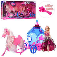 Кукольный набор карета и принцесса Jinni 83142 (J83142)
