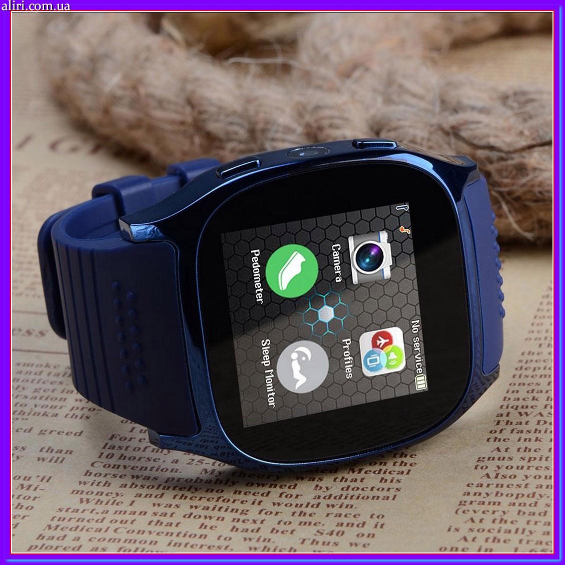 4240a93a8b33 Сенсорные Smart Watch T8 смарт часы умные часы синие