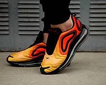 """Кроссовки Nike Air Max 720 """"Оранжевые\Желтые\Черные"""", фото 2"""