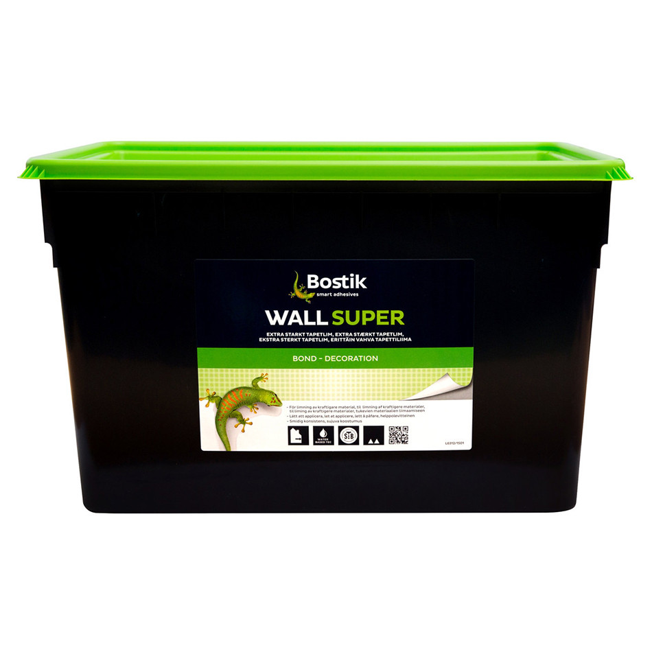 Клей для тканин і шпалер Bostik Wall Super 76, 15л
