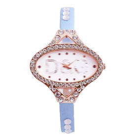 Часы наручные Dolce & Gabbana 3031 овальные в стразах