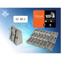 TZ 40-2 Точилка двойная металлическая TUKZAR
