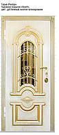 Входные двери Серия Модерн и Престиж со стеклопакетом и ковкой