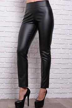 Черные кожаные брюки Лиора