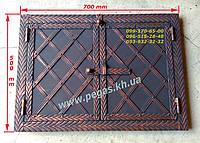 Дверка под коптилку металлическая, печи, барбекю, грубу, мангал №7, фото 1