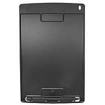 """ϞГрафический планшет Lesko LCD Writing Tablet 8.5"""" Black с стилусом для рисования заметок записей, фото 2"""