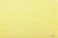 Креп бумага  светло желтая