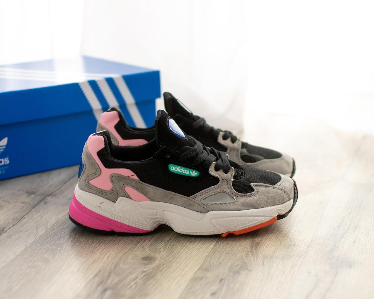 Женские кроссовки в стиле Adidas Falcon (36, 38 размеры)