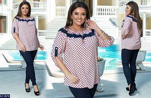 Сорочки та блузки великих розмірів