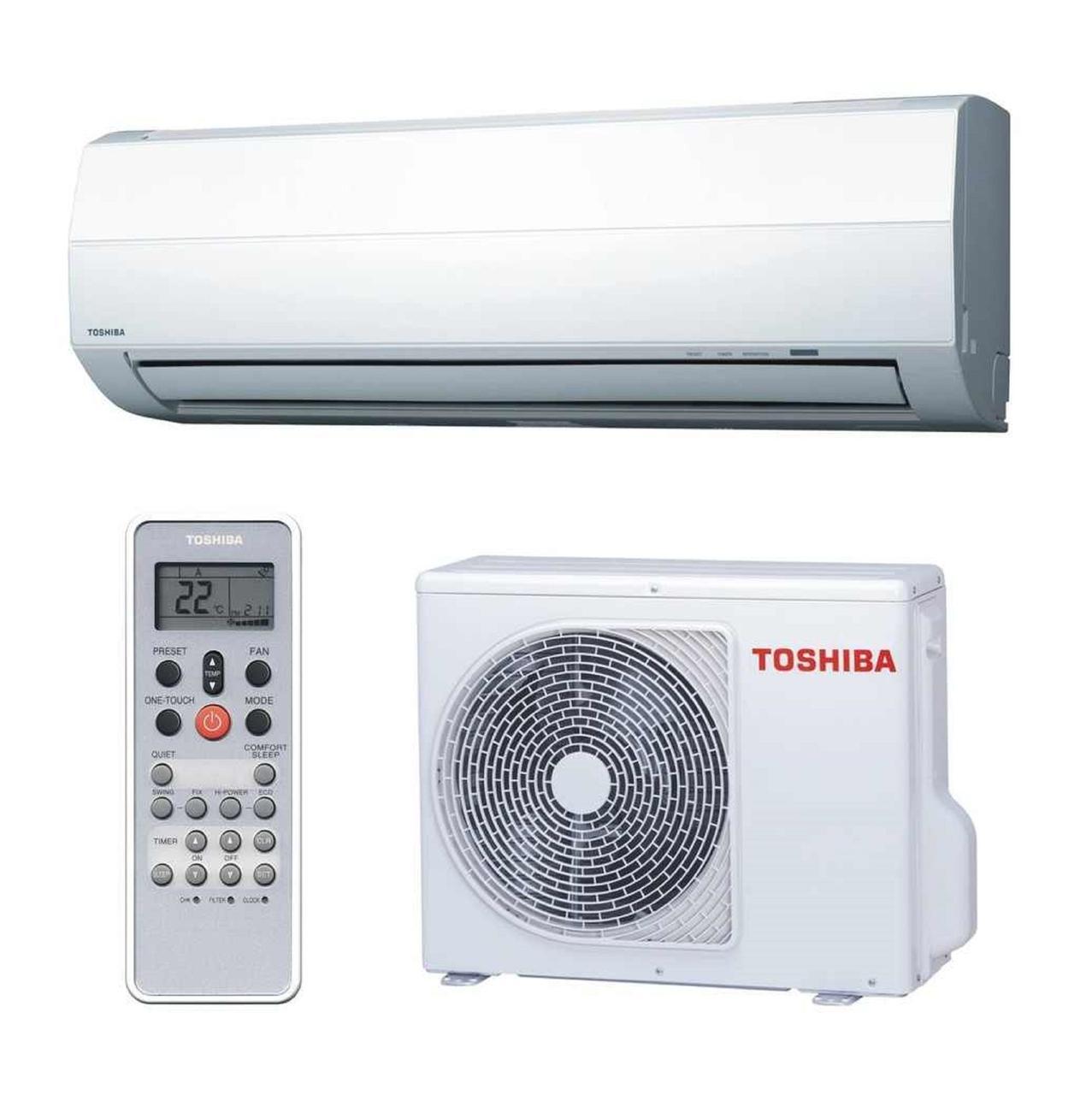 Инверторный кондиционер Toshiba до 20 кв.м RAS-07EKV-EE/RAS-07EAV-EE