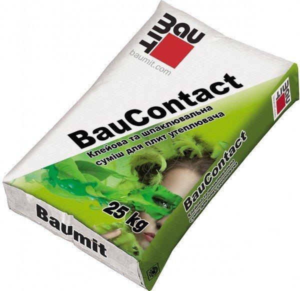 Клеевая армирующая смесь для утеплителя BauContact Baumit,25 кг
