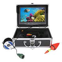 Подводная камера для рыбалки чемодан 9 дюймовый экран 15м кабель, фото 1