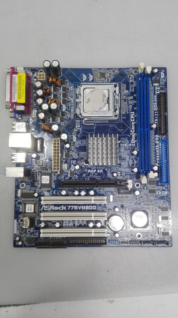 Материнская плата ASRock 775VM800 socket LGA775