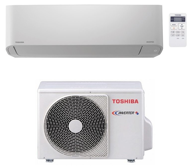 Инверторный кондиционер Toshiba до 25 кв.м RAS-10BKVG-EE/RAS-10BAVG-EE