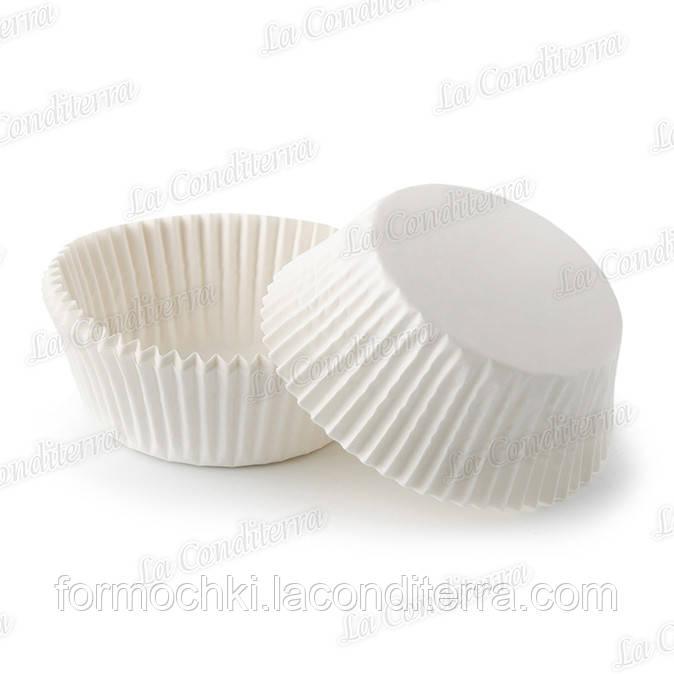 Форми для цукерок білі 5а (Ø40, бортик – 21 мм), 2000 шт.
