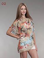 Яркая летняя блузка 02, фото 1