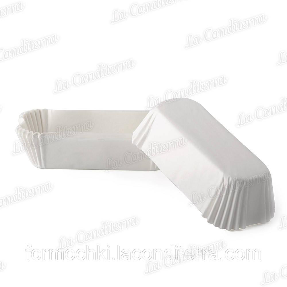 Форми для еклерів і тістечок білі P-10 (100x35 мм), 2000 шт.