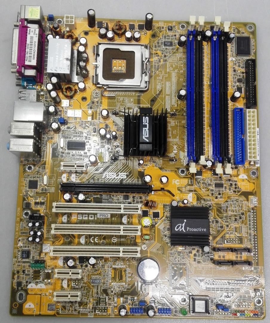 Материнська плата ASUS P5GD1 PRO ddr400, s775, Intel 915P