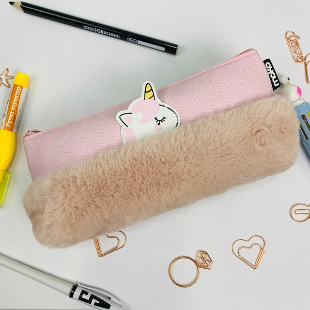 качественный розовый пенал