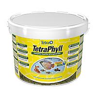 Сухой корм для аквариумных рыб в хлопьях TetraPhyll 10/2,05кг (для травоядных рыб)