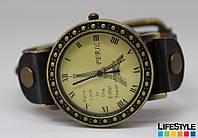 Женские стильные наручные часы Parise Love черные, фото 1