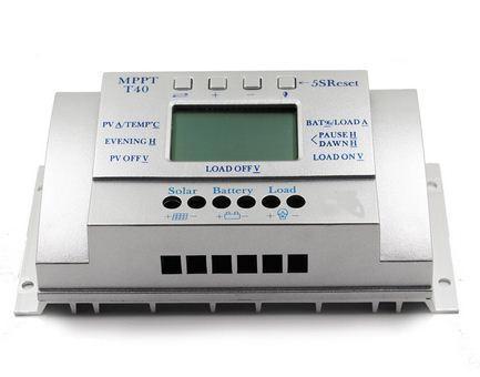Контроллер заряда АКБ от солнечных батарей Y-SOLAR T40 MPPT 12/24V 40A