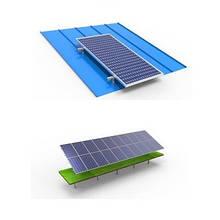 Системы креплений солнечных панелей