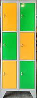 Шкаф для хранения личных вещей в супермаркет, ШОМ 300 2-6  Шафа в магазин. шкаф для сумок в магазин.