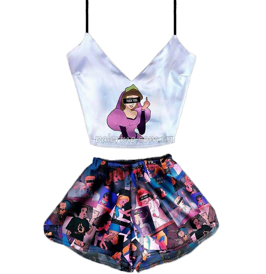 Пижама женская Bad Princess шелковая