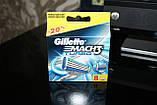 Gilette Mach3 Turbo 8 шт. в упаковке, Германия, сменные кассеты для бритья, фото 9