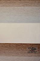 Рулонные шторы блэкаут день-ночь бронза ВН-93