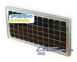 Сонячний фотомодуль Kvazar KV10M-12, 10 Вт