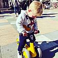 Беговел для малышей Milly Mally Tobi Yellow, фото 7