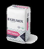 Шпаклевка гипсовая финишная KM Saten Krumix 25 кг