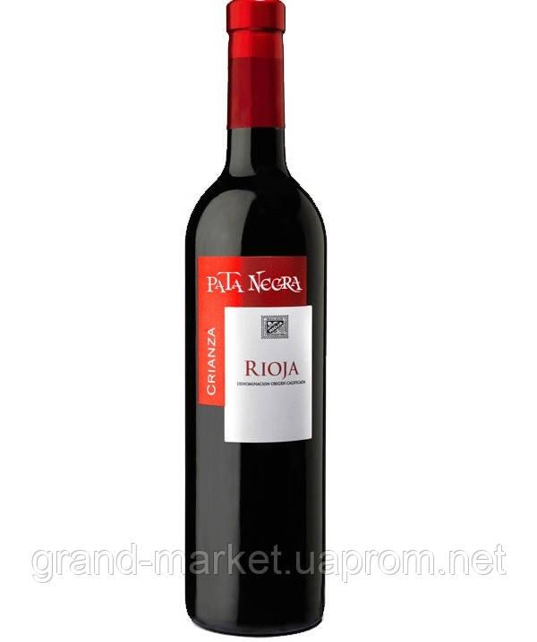 Вино PATA NEGRA 2012 Rioja