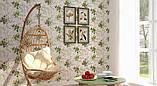 Обои бумажные мойка  Шарм 0,53*10,05 кухня, коридор, ванная Плющ, фото 2