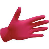 Рукавички нітрилові, mediCare Pink - 50 пар/уп, XS