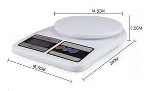 Весы кухонные электронные А-плюс до 10 кг ваги веса