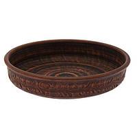 Блинница, глинянная тарелка 25 см