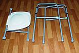 Стілець складаний туалет, фото 3