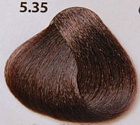 5.35 светлый каштан теплого табачного оттенка, крем-краска для волос Lovin Color