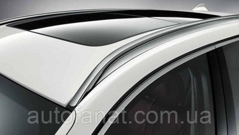 Оригинальный рейлинг на крышу правый серебристый BMW Х3 (F25) (51137230208)