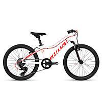 """Велосипед Ghost Lanao 2.0 20"""" , бело-красный, 2019 (Германия)"""