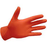 Рукавички нітрилові, Abena Orange - 50 пар/уп, S
