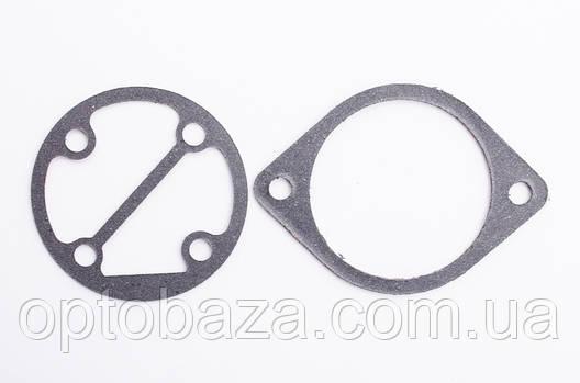 Прокладки комплект (2 шт) под круглую пластину для компрессора, фото 2